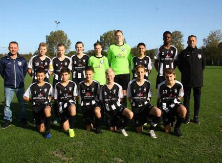 M.S.V.'71 JO15-1 wint in Den Haag van ESDO JO15-1