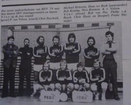 M.S.V.'71-1 Zaal Seizoen 1977-1978