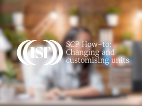 Changing & Customising Units in SCP