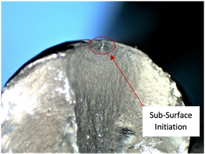 Figure 1 - Sub-surface Initiation