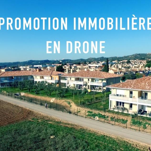 Promotion Immobilière en drone: Mise en valeur d'un programme finit