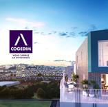 Promotion Immobilière avec insertion 3D réaliste dans une vidéo drone
