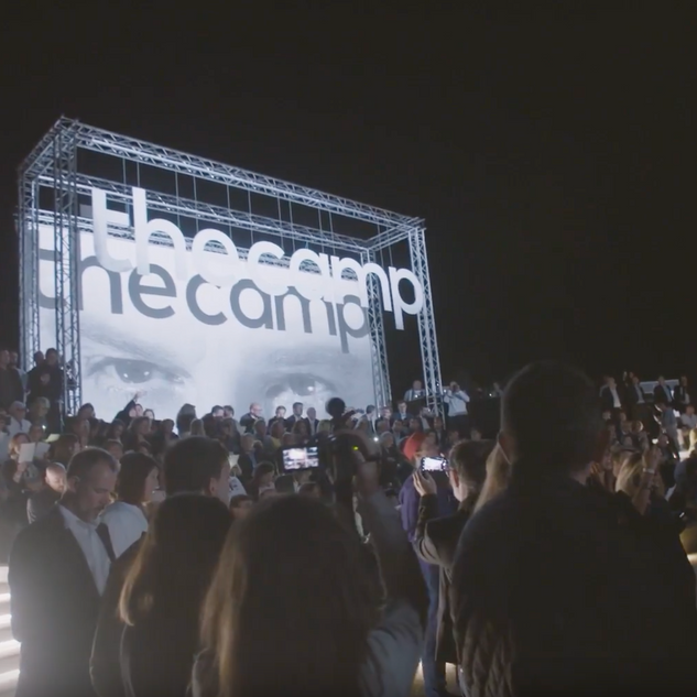 Inauguration Opening thecamp (Image drone DERONNEPROD