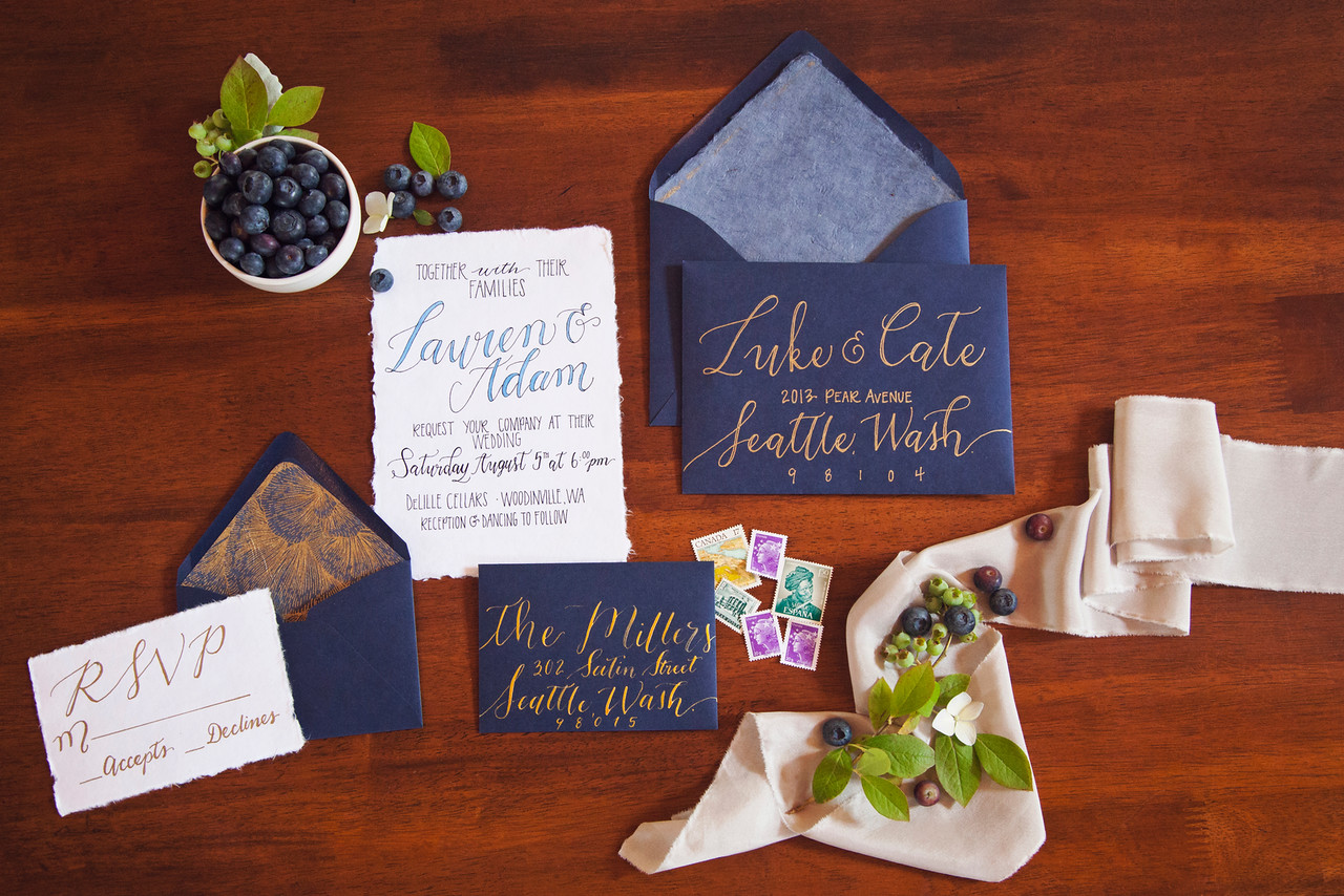 wedding stationary personalized