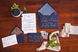 wedding stationary personalized
