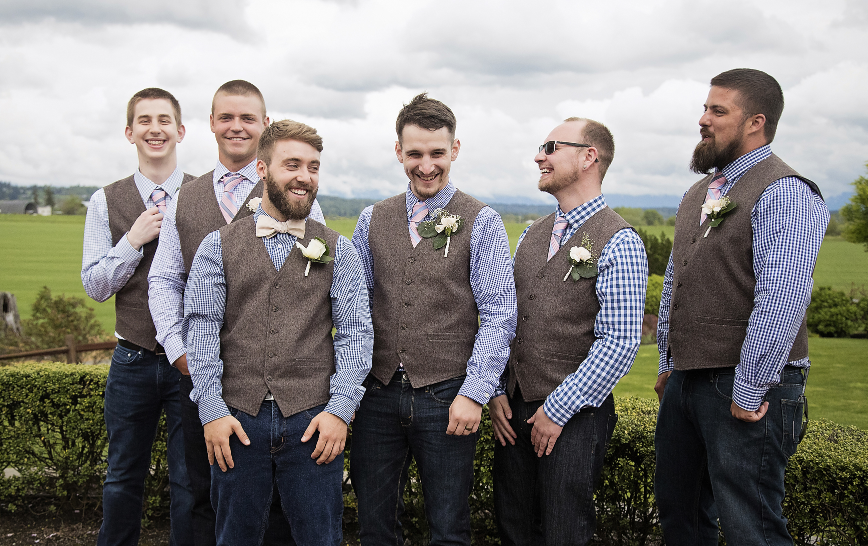 groomsmen funny photo