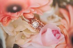 detailed wedding ring shot