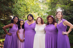 wedding party color palette