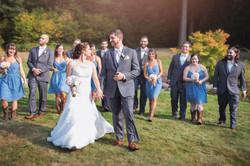 whole bridal party photo