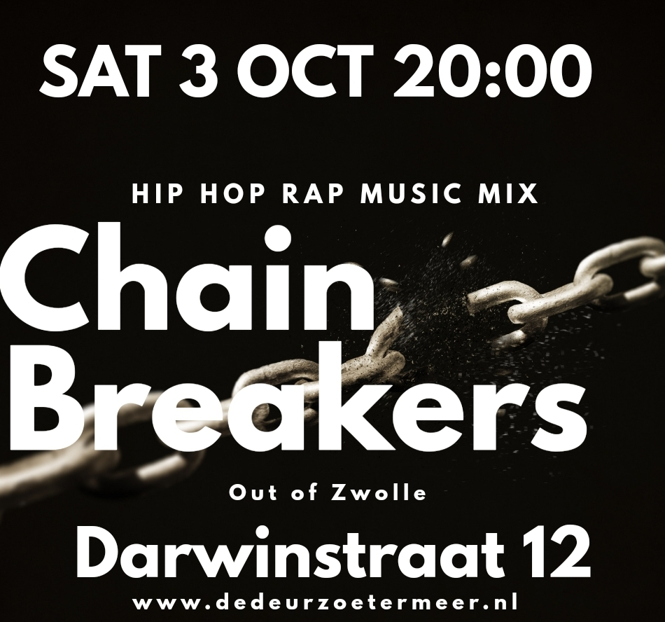 Chain Breakers 3 oktober 20:00