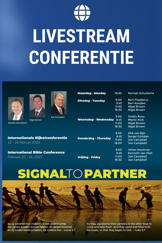 Livestream Conferentie