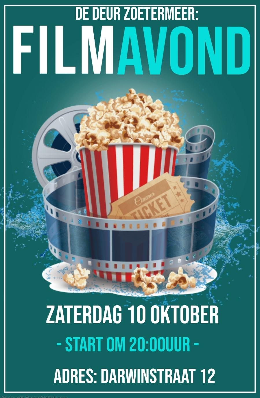 Filmavond 10 oktober