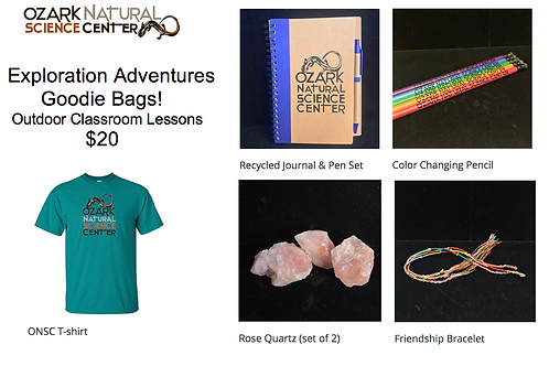 Outdoor Lesson Goodie Bag