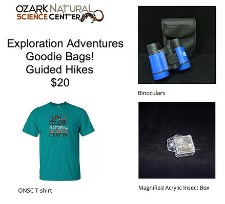 Guided Hike Goodie Bag