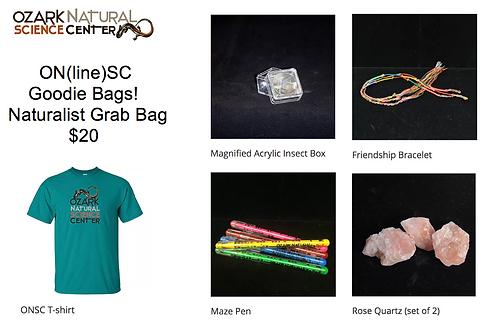Naturalist Grab Bag Goodie Bag
