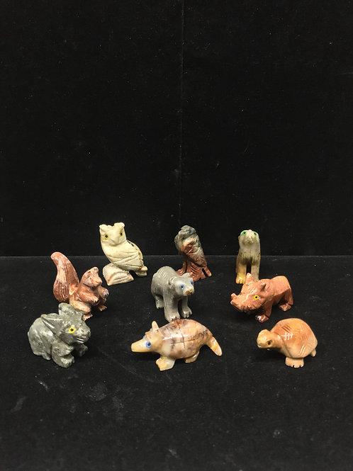 Soapstone Animal Figurine