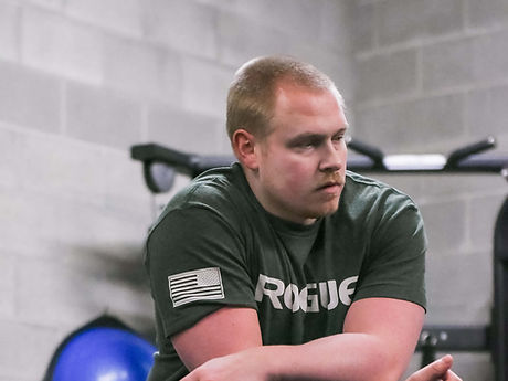 Pat Carver Logan Utah certified personal training and strength coach