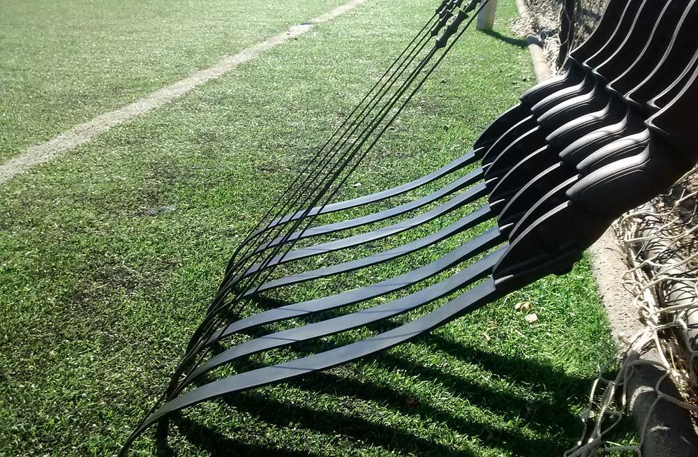 tag archery paca chasse à l'homme tir  à l'arc briancon serre chevalier hautes alpes