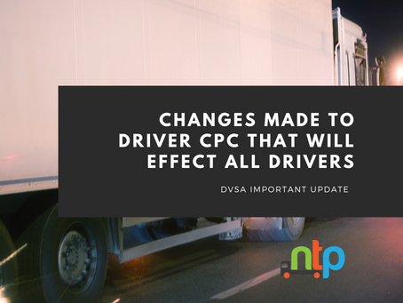 Drivers risk having DQC card revoked under changes to Driver CPC