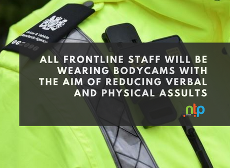 Roll out of bodycams for DVSA frontline enforcement staff
