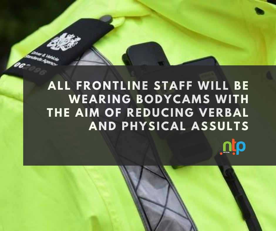 DVSA-FRONTLINE-STAFF-TO-BE-ISSUED-BODYCAMS-NTP-SERVICES