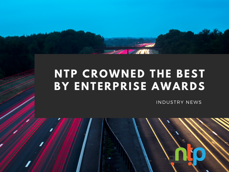 NTP named as Best Logistics and Haulage Training Provider 2021 in Awards