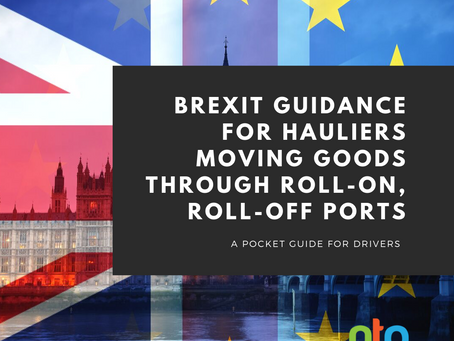 Brexit guidance for hauliers moving goods through roll-on, roll-off ports