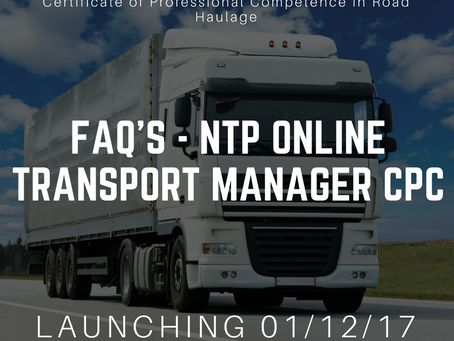 Frequently Asked Questions about our online Transport Manager CPC Course