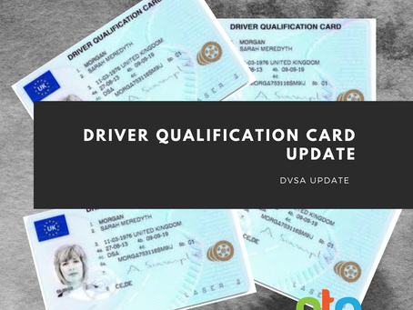 Driver Qualification Card update - DVSA apologise after mistake and issue new information