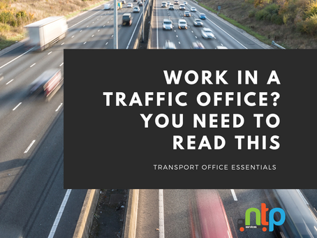 The benefits of NTP's new eLearning course for those working in a Traffic Office