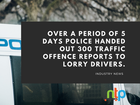 More than 350 offences spotted on A14, A11 and A12 in a week of action targeting lorry drivers