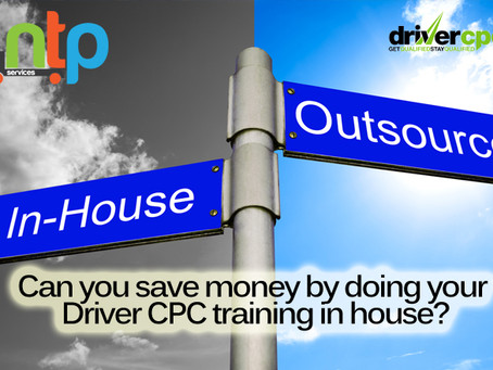 Can you save money by doing your Driver CPC training in house?