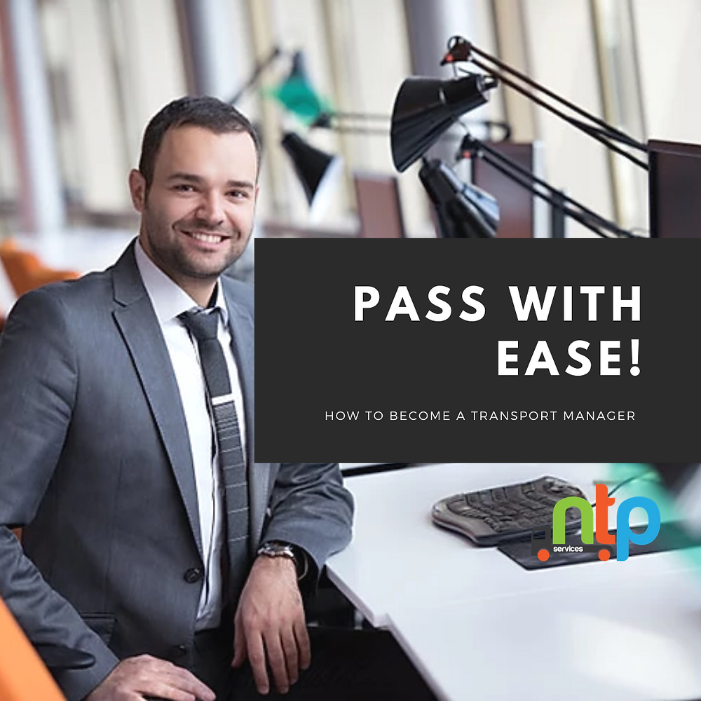 Become a transport manager - pass with ease.