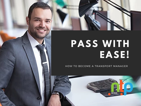 The easy way to become a qualified Transport Manager