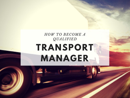 How to become a qualified Transport Manager