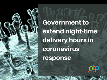 Government to extend night-time delivery hours in coronavirus response