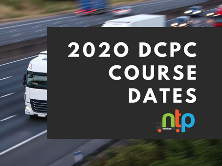 2020 Driver CPC course dates released