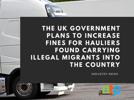 Industry slams new UK plan to increase fines for hauliers carrying migrants