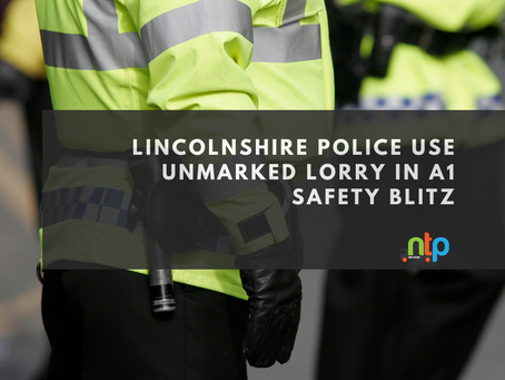 Unmarked lorry on A1 helps Lincolnshire police stop 49 vehicles!