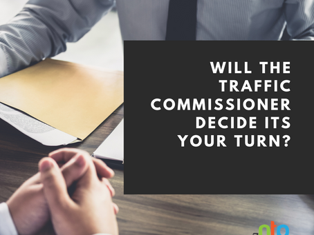 Log in and Learn before the Traffic Commissioner decides its your turn!