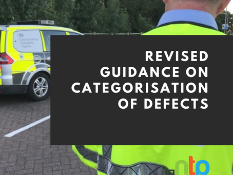 Revised guidance on categorisation of defects
