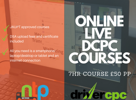 Further Driver CPC training dates released to meet growing demand