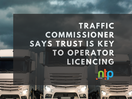 Persistent non-compliance left operator unfit to hold a licence - TC says trust is key