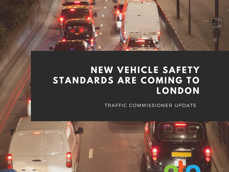 London to implement new vehicle safety standards