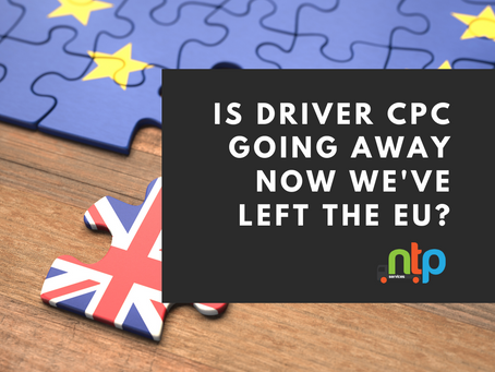 Is Driver CPC going to be scrapped now we've leave the EU?