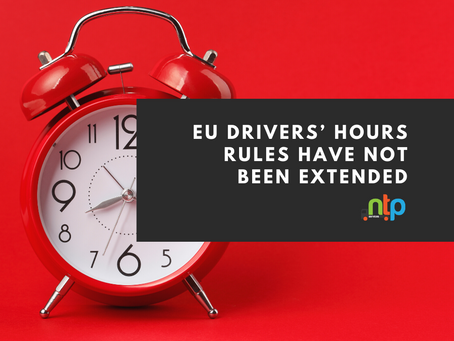 DVSA - Drivers' hours rules update