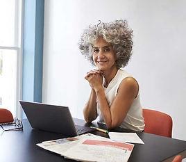 Mature Female Entrepreneur
