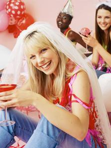 Glückliche Bachelorette