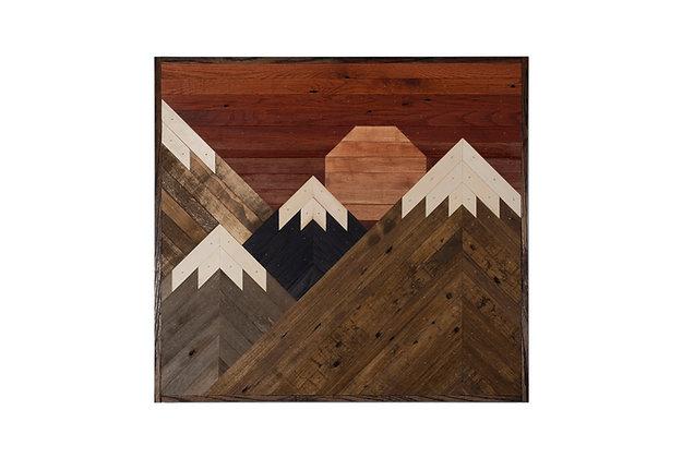 Sun-kissed Peaks