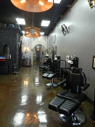 Black Tower Tattoo Shop Los Angeles Interior Shop Floor Chairs Tattoo Studio